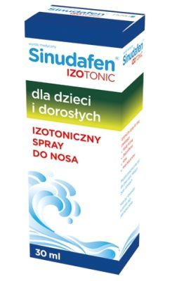 Sinudafen IZOTONIC Izotoniczna woda morska do nosa, spray 30 ml