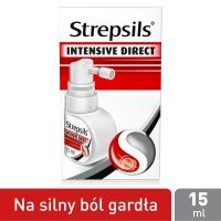 Strepsils Intensive Direct aerozol na ból gardła, 15 ml