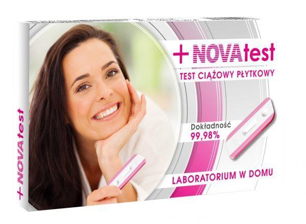 bf1f0930d8f160 Test ciążowy płytkowy NOVAtest - planowanie ciąży, hormon HCG - Ziko ...