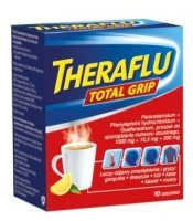 Theraflu Total Grip, 10 saszetek