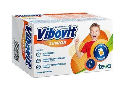 c641eb733c1a Vibovit Junior zestaw witamin dla dzieci o smaku pomarańczowym ...