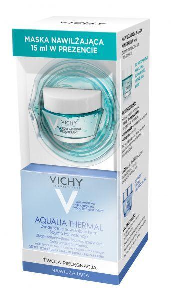 Vichy Aqualia Thermal Zestaw Krem do skóry suchej i bardzo..