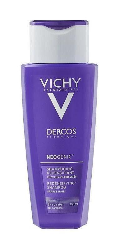 vichy szampon na porost włosów opinie