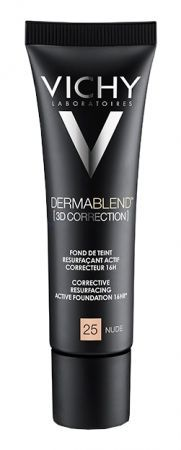 VICHY Dermablend 3D Correction Podkład /25 Nude/ SPF 25, 30 ml