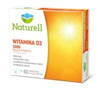 Witamina D3 2000 j.m., 60 tabletek do ssania /Naturell/