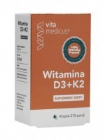 Witamina D3 + K2 krople VitaMedicus, 29,4 ml /Herbamedicus/