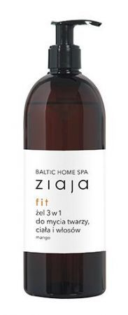 Ziaja Baltic Home Spa fit Żel do mycia 3 w 1, 500 ml